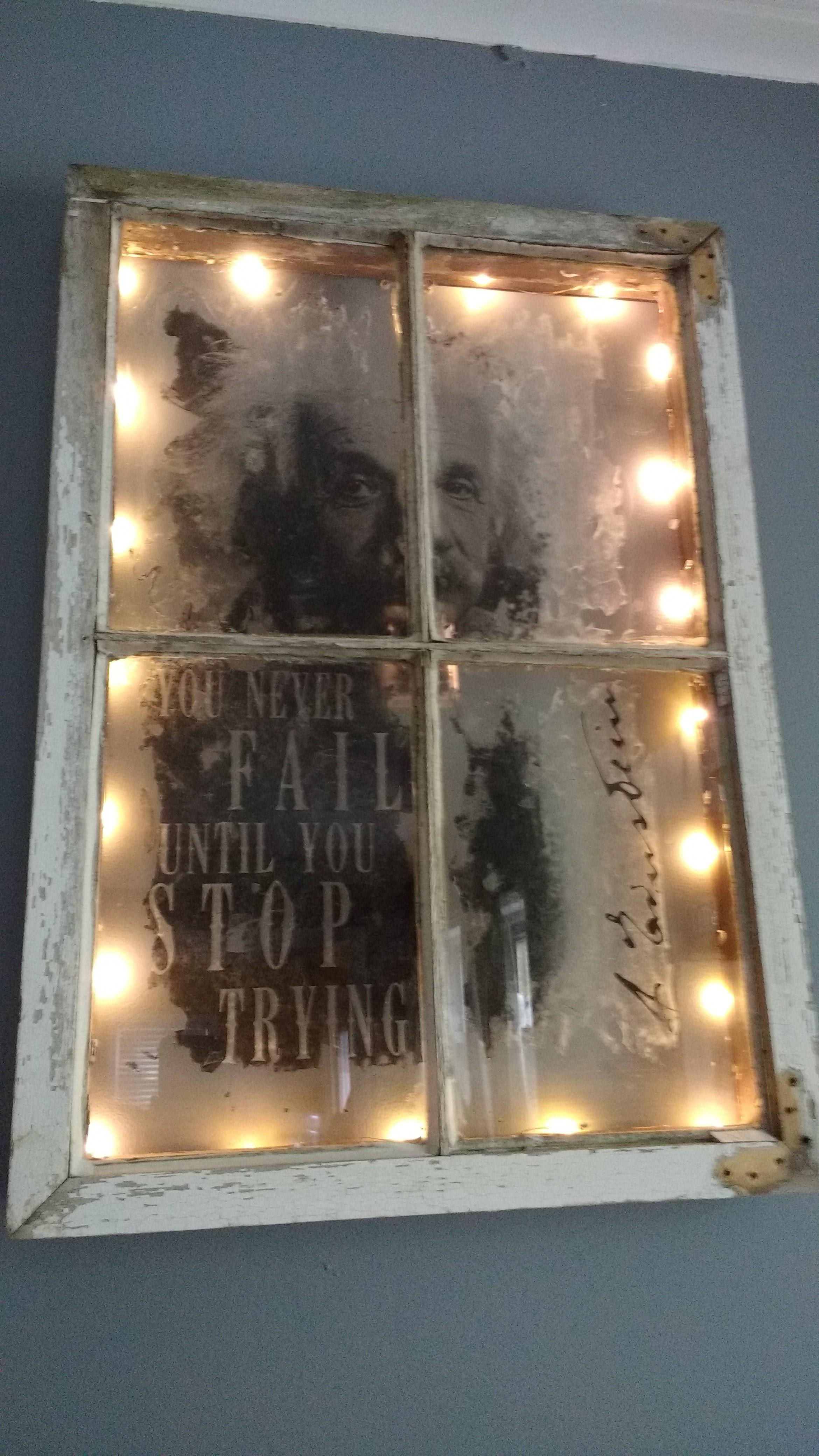 113. Einstein's window