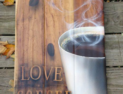 Love Coffee Step by step