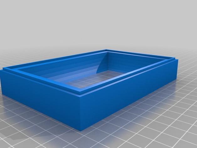 Two part 3d Print Apple Pie Mold