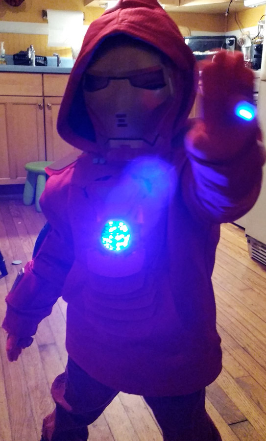 """I want to be IRONMAN for Halloween"""